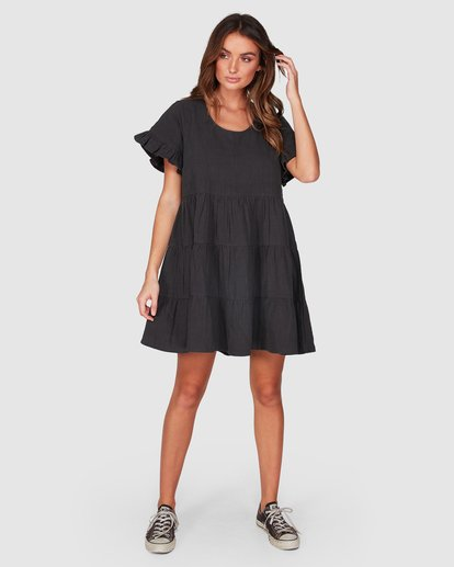 9 Pixie Dress Black 6507474 Billabong