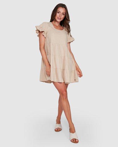 6 Pixie Dress Beige 6507474 Billabong
