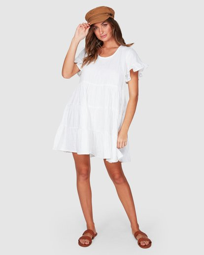 4 Pixie Dress White 6507474 Billabong