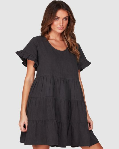 6 Pixie Dress Black 6507474 Billabong