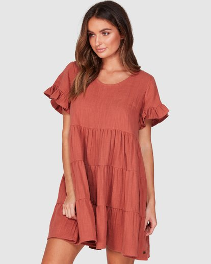 1 Pixie Dress Brown 6507474 Billabong