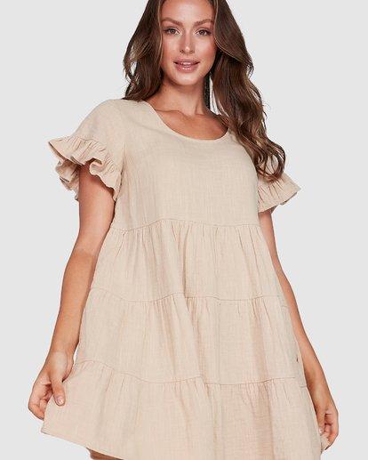 4 Pixie Dress Beige 6507474 Billabong