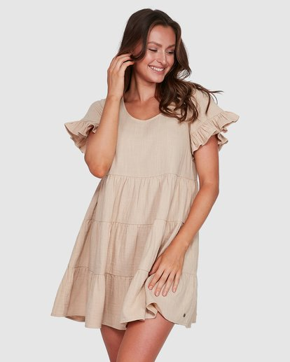 1 Pixie Dress Beige 6507474 Billabong