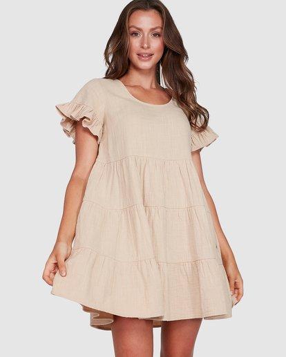 0 Pixie Dress Beige 6507474 Billabong