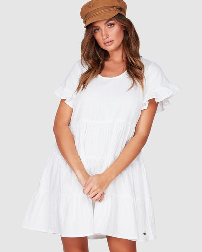 1 Pixie Dress White 6507474 Billabong