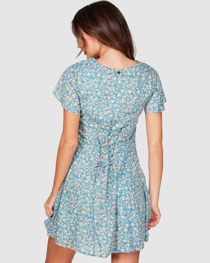 2 Wake Me Up Dress Blue 6507475 Billabong