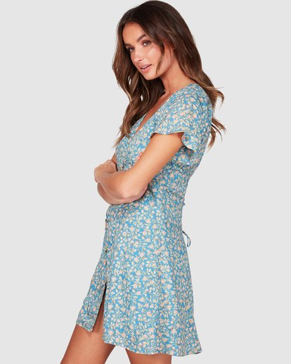 1 Wake Me Up Dress Blue 6507475 Billabong