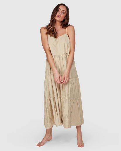 1 Lost Love Maxi Dress Yellow 6507478 Billabong