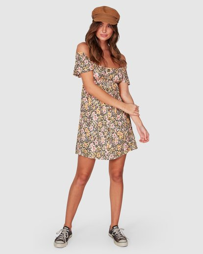 4 Serena Dress Black 6507479 Billabong