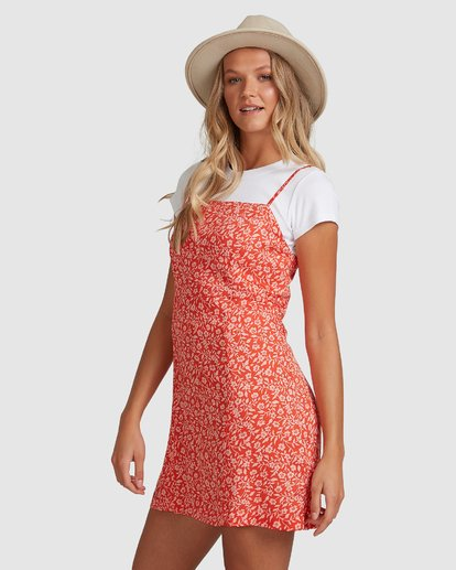 2 Chantal Dress Red 6507485 Billabong