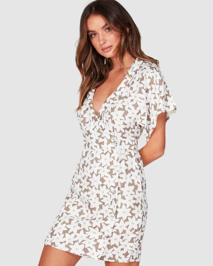 1 Wander Beyond Dress Brown 6507486 Billabong