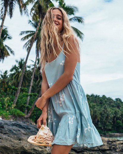 0 Blue Clouds Dress  6507487 Billabong