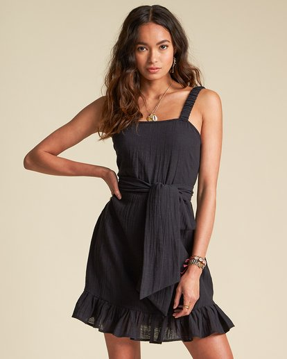0 Saw It Coming Dress - Sincerely Jules Collection Black 6507488M Billabong