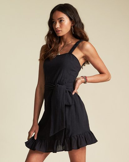1 Saw It Coming Dress - Sincerely Jules Collection Black 6507488M Billabong