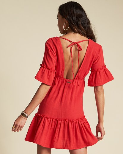 3 Lovers Wish Dress - Sincerely Jules Collection Red 6507490M Billabong