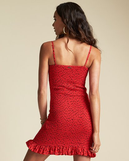 2 Playing For Keeps Dress - Sincerely Jules Collection Red 6507491M Billabong