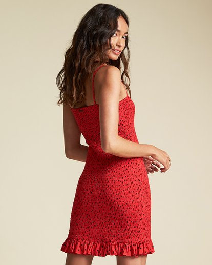 1 Playing For Keeps Dress - Sincerely Jules Collection Red 6507491M Billabong
