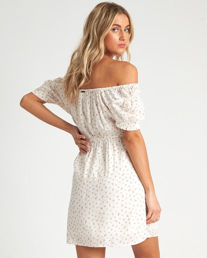 2 Fall For Love Dress White 6507495X Billabong