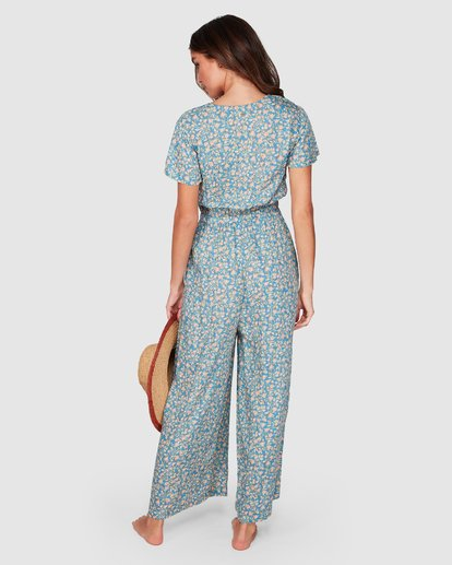 3 Wake Me Up Jumpsuit Blue 6507503 Billabong