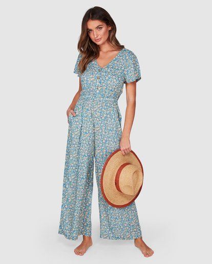 1 Wake Me Up Jumpsuit Blue 6507503 Billabong