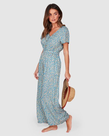 2 Wake Me Up Jumpsuit Blue 6507503 Billabong