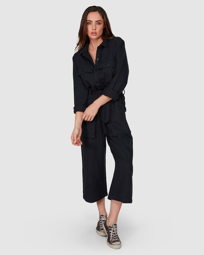 1 Work At It Jumpsuit Black 6507507 Billabong