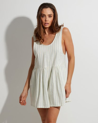 0 Cabo Blue Ray Playsuit Beige 6507512 Billabong