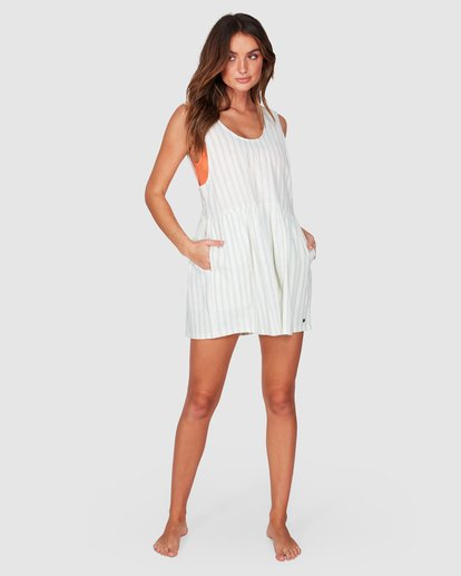 5 Cabo Blue Ray Playsuit Beige 6507512 Billabong