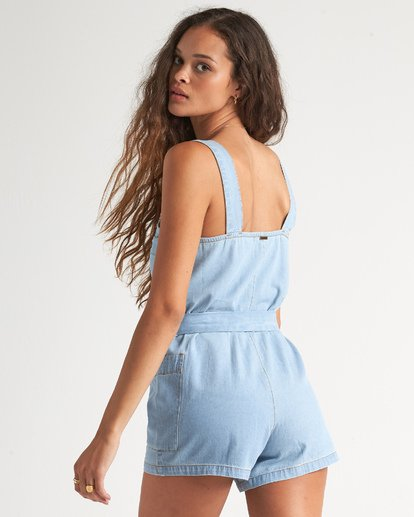 3 Light The Day Jumpsuit Blue 6507517X Billabong