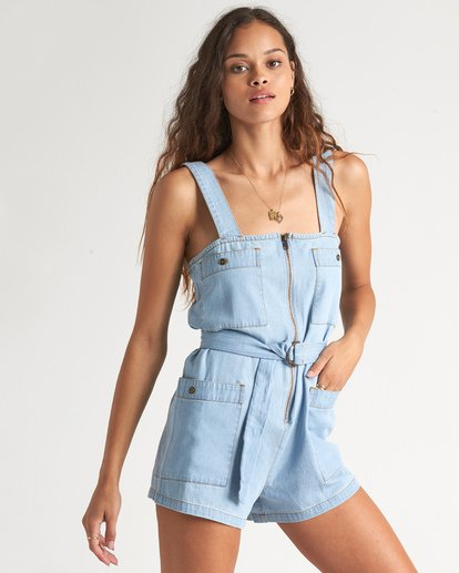 1 Light The Day Jumpsuit Blue 6507517X Billabong