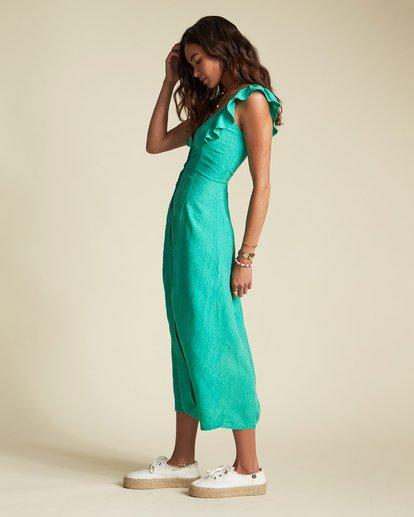 1 Love Tripper Dress - Sincerely Jules Collection Green 6507519M Billabong