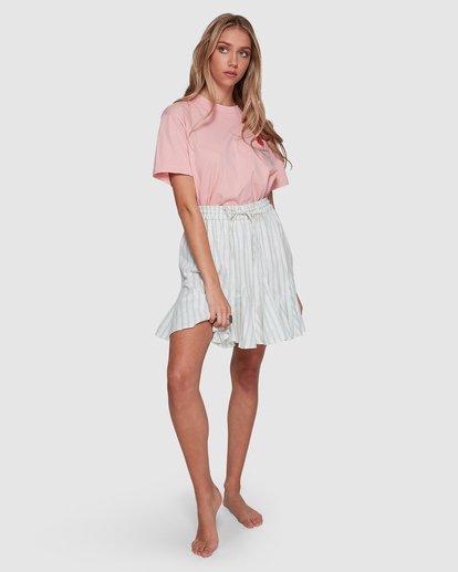 9 Blue Ray Skirt Beige 6507523 Billabong