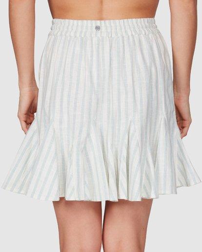 5 Blue Ray Skirt Beige 6507523 Billabong