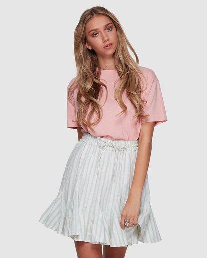 1 Blue Ray Skirt Beige 6507523 Billabong
