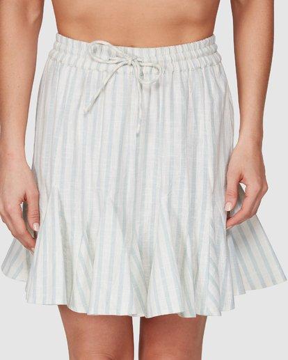 4 Blue Ray Skirt Beige 6507523 Billabong