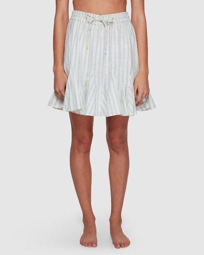 6 Blue Ray Skirt Beige 6507523 Billabong