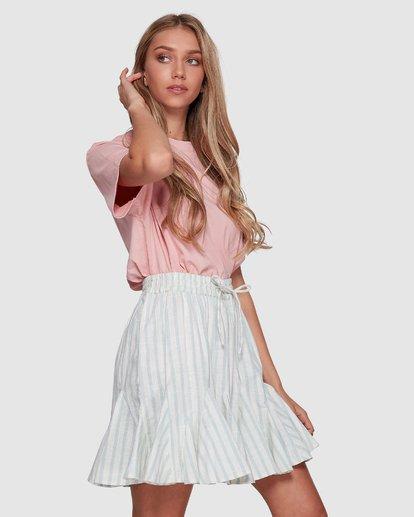 2 Blue Ray Skirt Beige 6507523 Billabong
