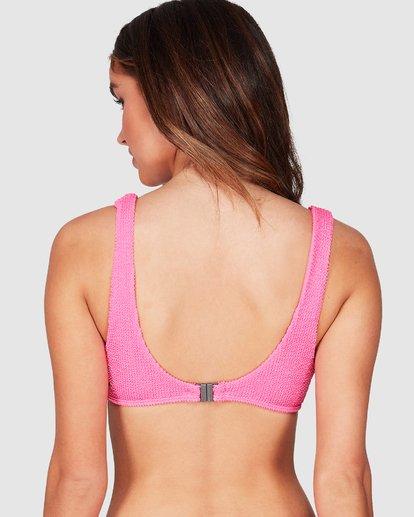3 Summer High Cutaway Bralette Bikini Top Pink 6507556 Billabong