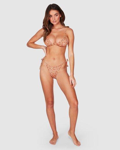 5 Another Day Skimpy Tri Bikini Top Brown 6507566 Billabong