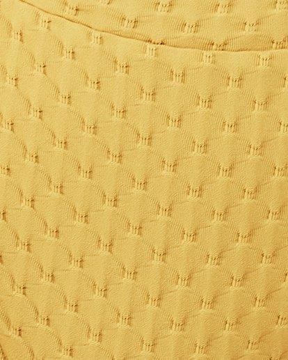 4 Lovelock Maui Rider Bikini Bottoms Yellow 6507574 Billabong