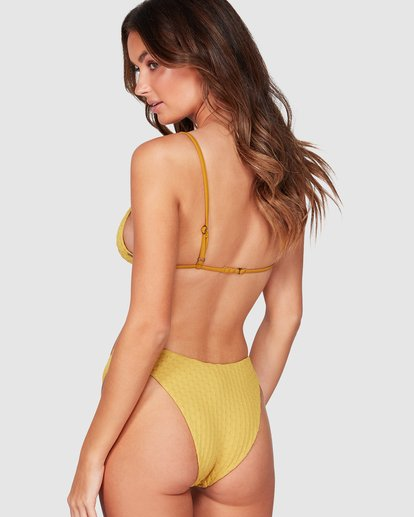3 Lovelock Hike Bikini Bottoms Yellow 6507576 Billabong