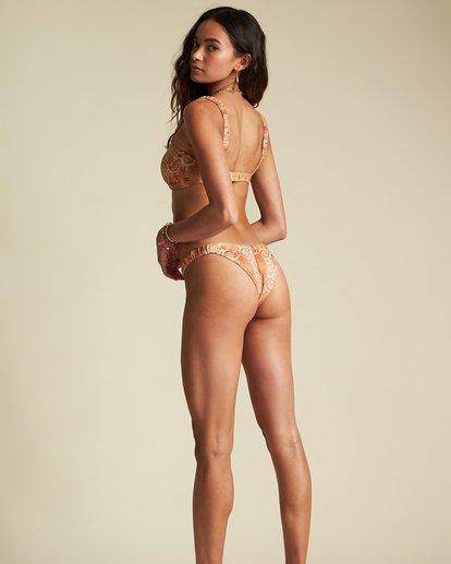 3 Over The Sun Bandeau Bikini Top - Sincerely Jules Collection Black 6507610X Billabong