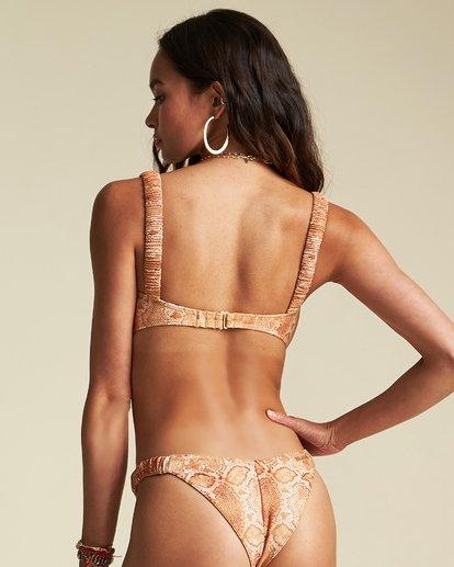 2 Over The Sun Bandeau Bikini Top - Sincerely Jules Collection Black 6507610X Billabong