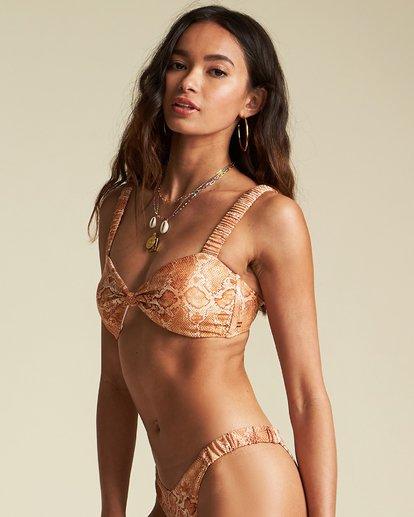 1 Over The Sun Bandeau Bikini Top - Sincerely Jules Collection Black 6507610X Billabong