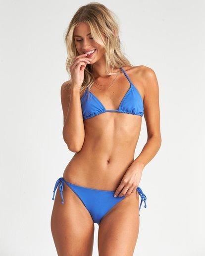 1 Sol Searcher Tri Bikini Top Blue 6507618X Billabong