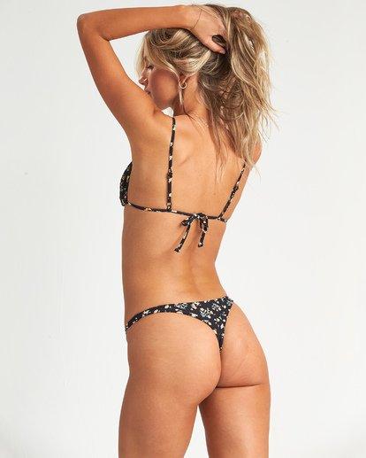 2 Sweet Side Slide Tri Bikini Top Black 6507639AS Billabong