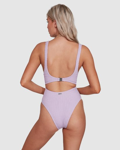 3 Braid Rib One Piece Purple 6507677M Billabong