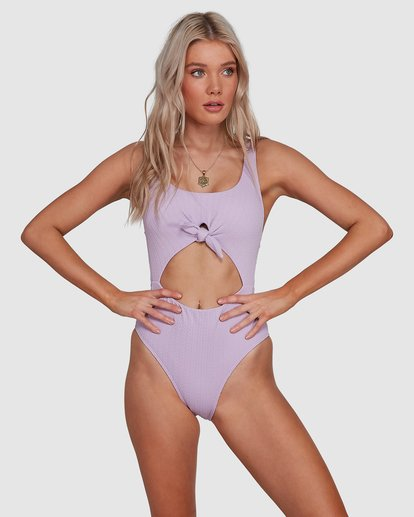1 Braid Rib One Piece Purple 6507677M Billabong