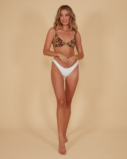10 Braid Rib Hike Bikini Bottoms White 6507678M Billabong