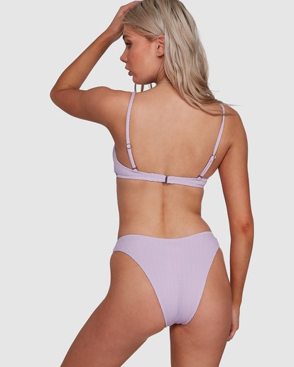 5 Braid Rib Hike Bikini Bottoms Purple 6507678M Billabong